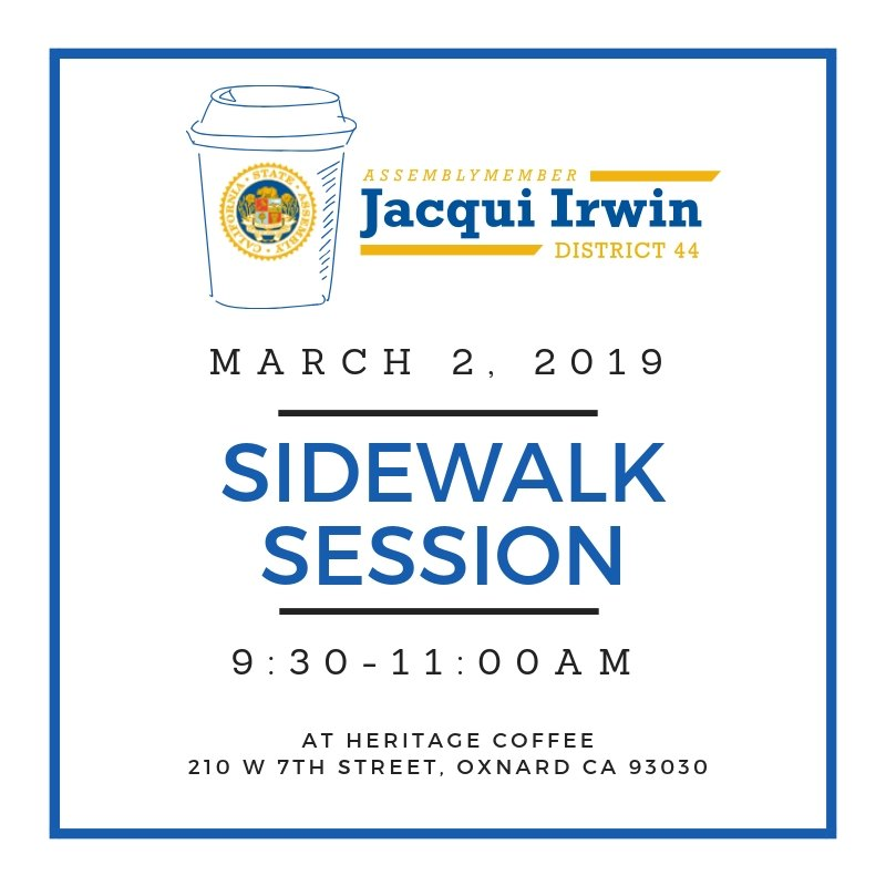 Sidewalk Session flyer with event info