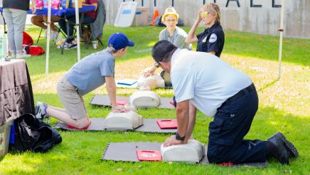 Hands-on CPR workshop